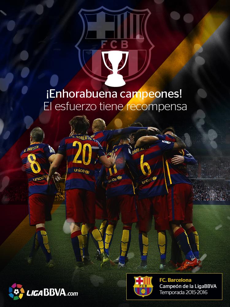 LigaBBVA.com Felicidades FC Barcelona