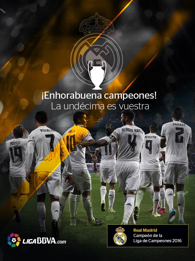 LigaBBVA.com Felicidades Real Madrid