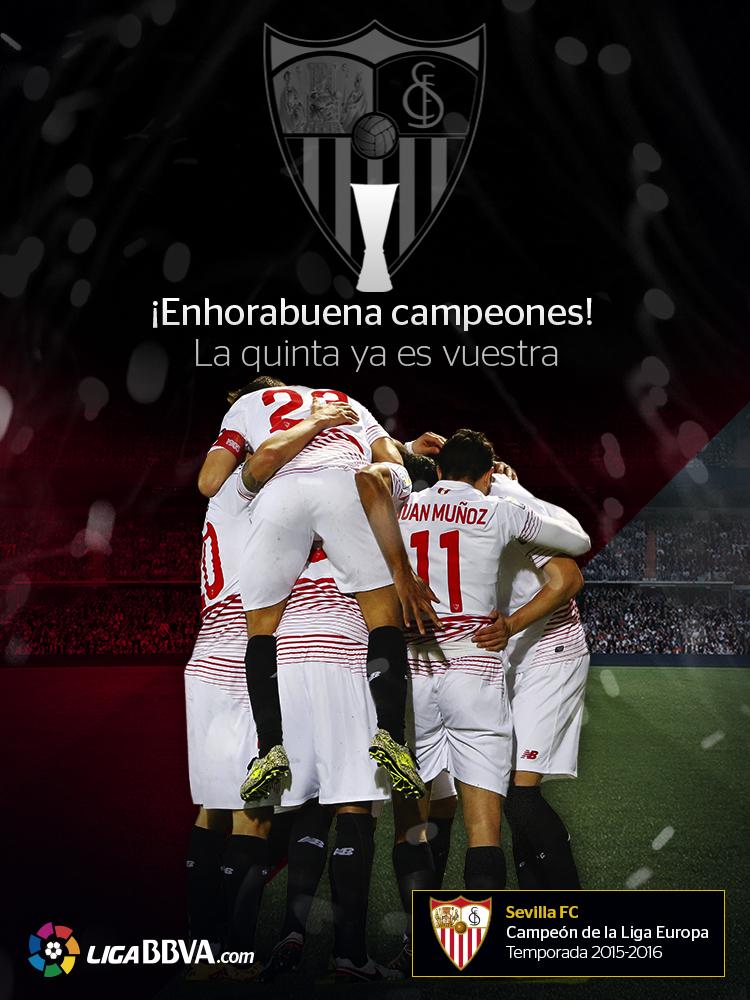 LigaBBVA.com Felicidades Sevilla FC
