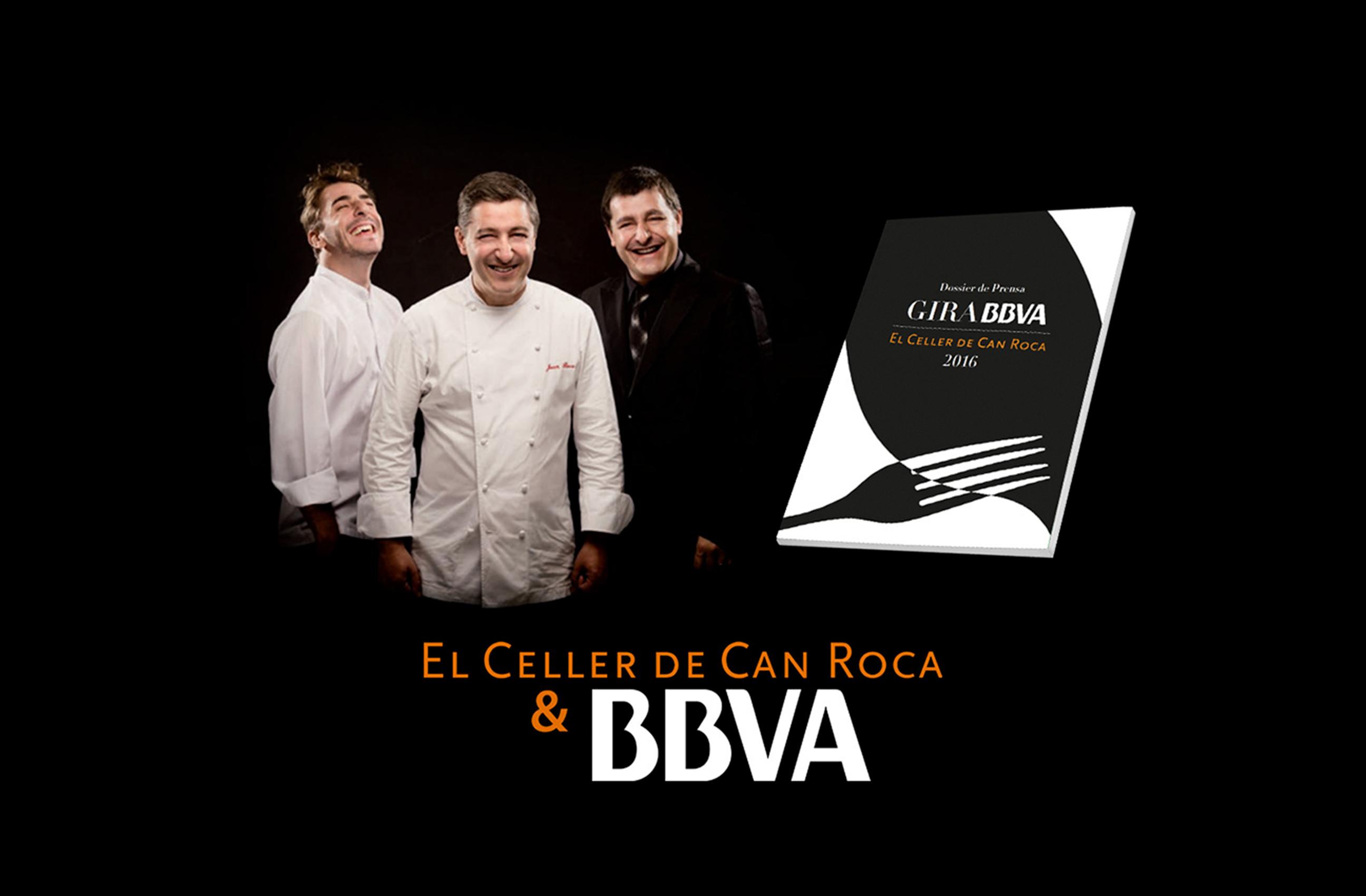 El Celler de Can Roca & BBVA: Gira 2016