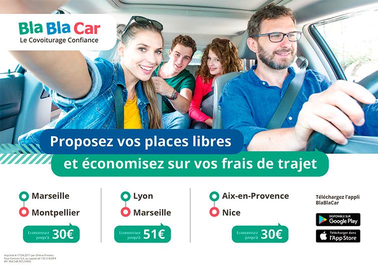 BlaBlaCar : France Ad