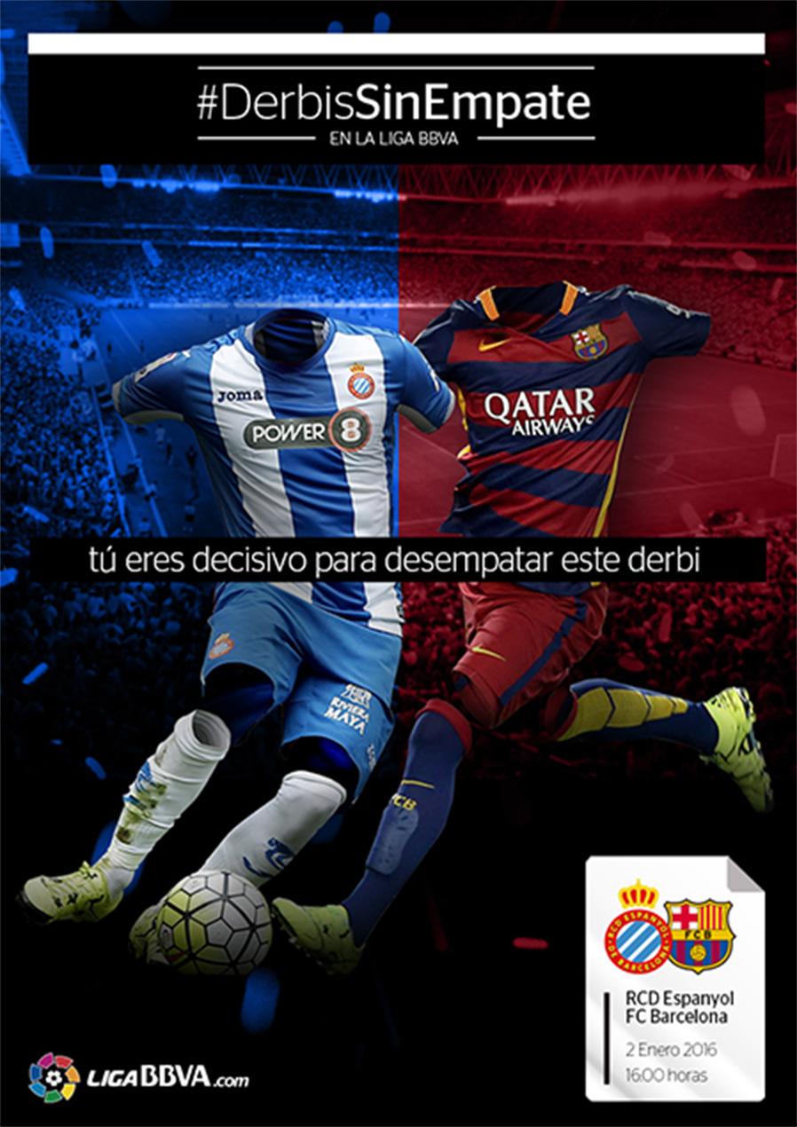 #DerbisSinEmpate LigaBBVA Poster