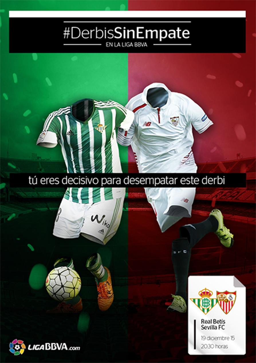 #DerbisSinEmpate LigaBBVA Poster Sevilla Betis