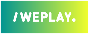 /WEPLAY. Dale play a tus redes: logos
