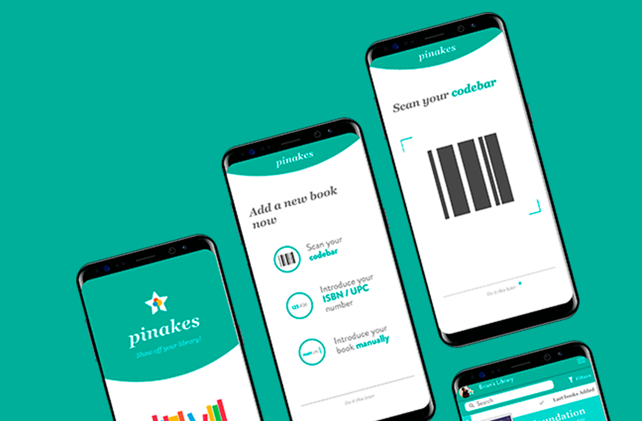 Pinakes: Show off your library. User Interface