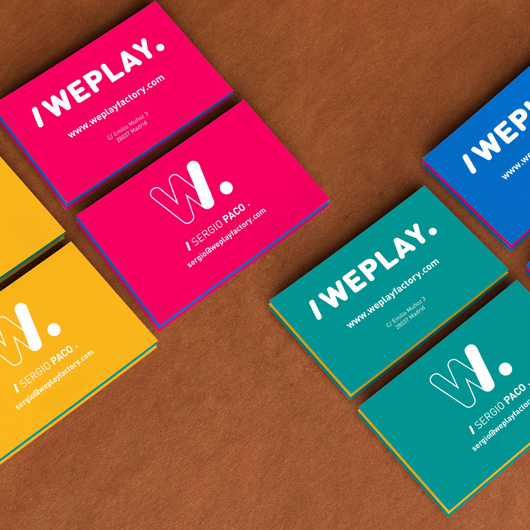 /Weplay. Business Cards