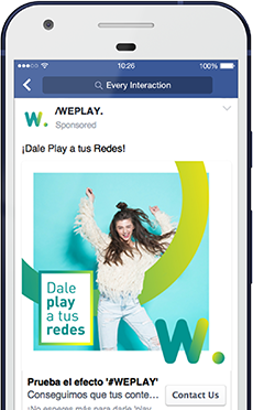 /weplay. Social Networks